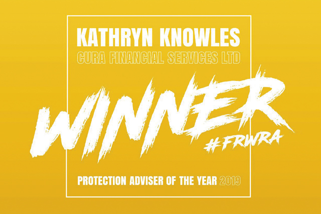 Award logo for winning Protection Adviser of the Year