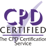 CPD UK logo stating CPD certified, the CPD Certification Service