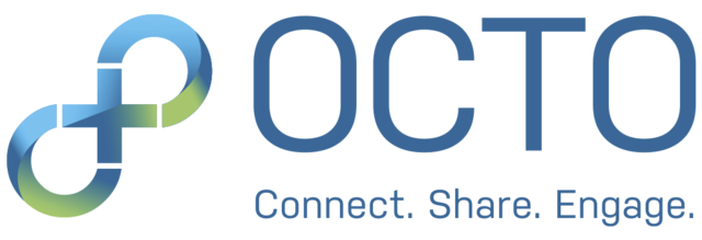 Octomembers logo saying Octo Connect Share Engage
